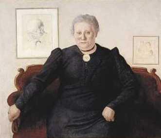 Schilderij van Rosina Cohen-Levie door haar zoon Moses Cohen (Foto: Joods Historisch Museum)