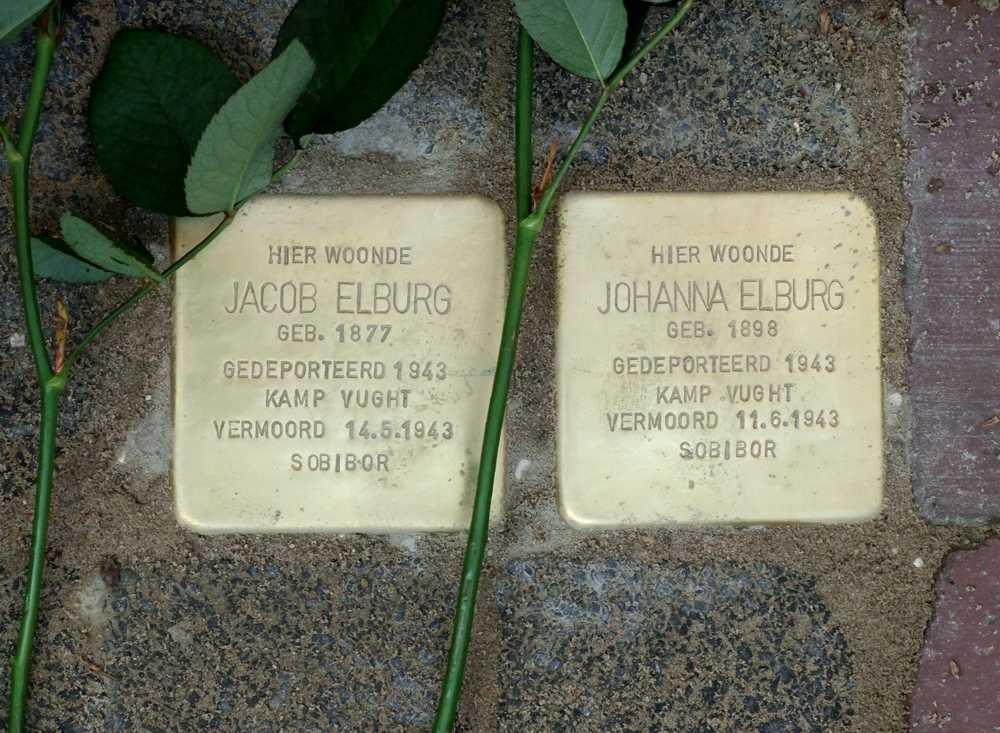 Stolpersteine Familie Elburg