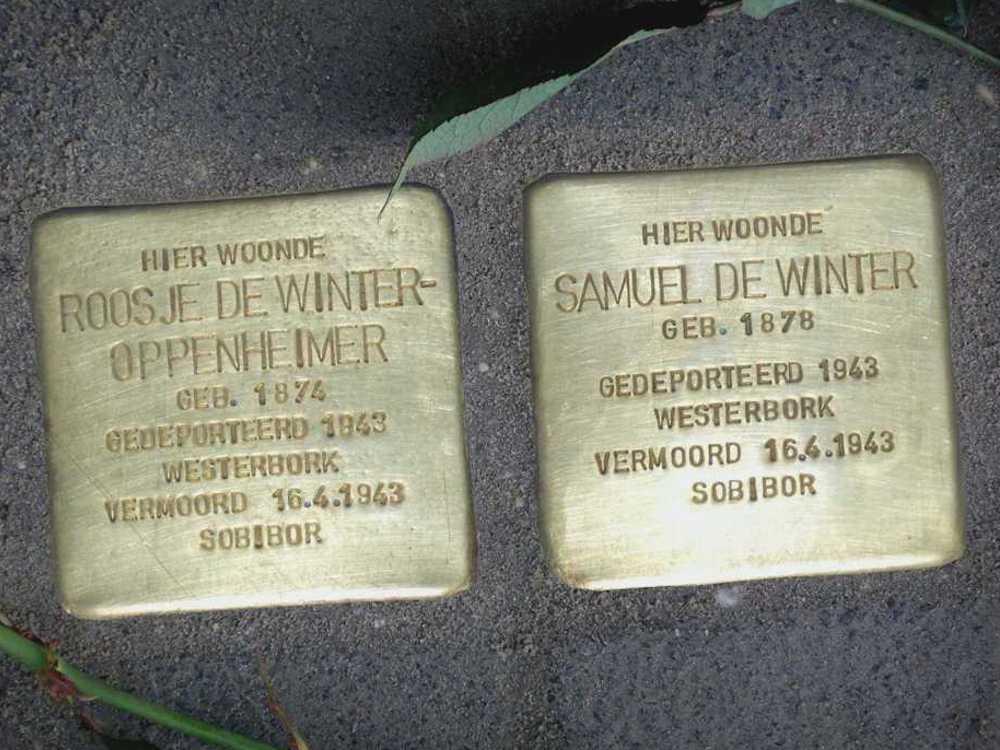 Stolpersteine Familie De Winter